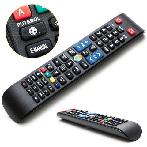 Imagem de Controle Samsung Remoto Smart Tv Led Lcd 3d  Função futebol