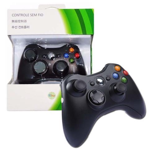 Imagem de Controle Sem Fio Xbox 360 - preto