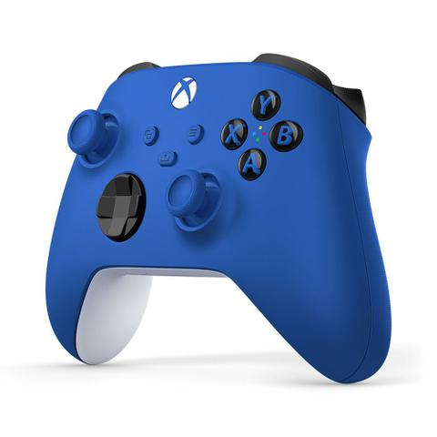 Imagem de Controle Sem Fio Xbox Shock Blue - QAU-00065