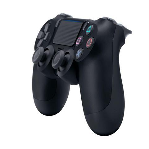 Imagem de Controle Sony Dualshock 4 Preto sem fio (Com led frontal) - PS4