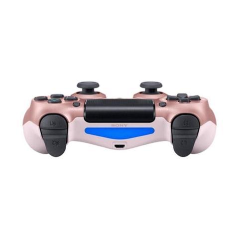 Imagem de Controle Sony Dualshock 4 Rosa Dourado sem fio (Com led frontal) - PS4