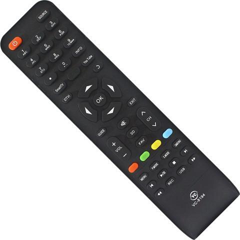 Imagem de Controle Tv Philco Led Lcd Smart Youtube Ph39e31dg Ph20m91d Ph39 Ph43 Vc-A8194