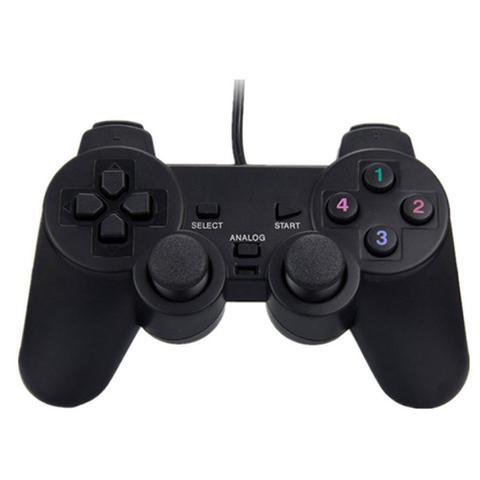 Imagem de Controle Usb para PC Computador Notebook Joystick Dualshock Analógico