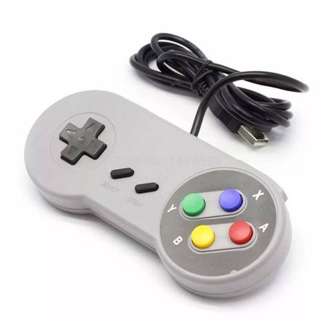 Imagem de Controle USB Pc Video Game Super Pad Snes Joystick Retro - Importado - DUPL