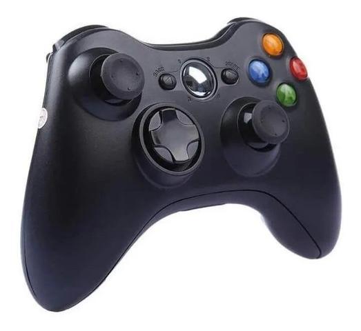 Imagem de Controle Video Game Xbox 360 Com Fio Joystick Xbox360 E Pc