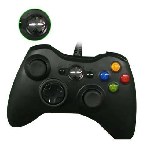 Imagem de Controle Wired Game Controller Gamepad Para Microxbox 360 Joystick Xb