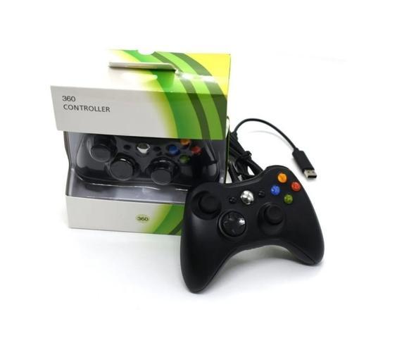 Imagem de Controle Xbox 360 Pc Joystick Com Fio