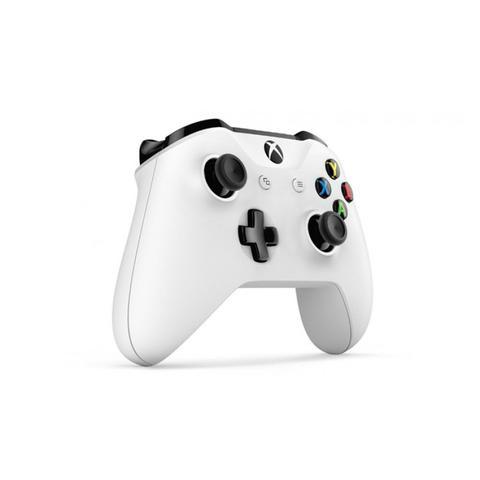 Imagem de Controle Xbox One Bluetooth sem fio Conector P2 Branco - Microsoft