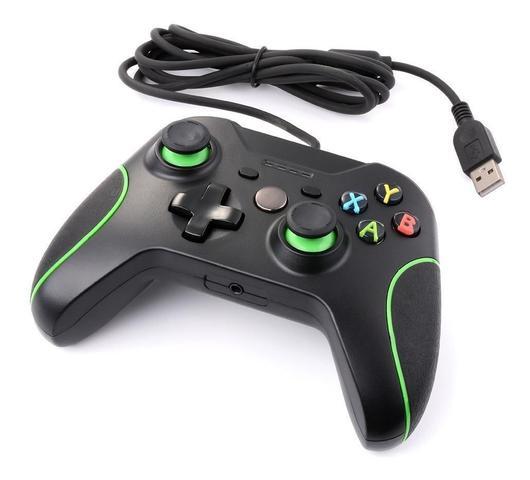 Imagem de Controle Xbox-One Original Joystick Com Fio Pc, Usb-Feir