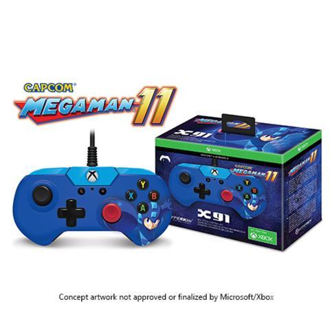 Imagem de Controller megaman 11 x91 hyperkin