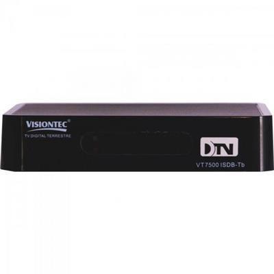 Imagem de Conversor Digital Terrestre VT7500 Preto VISIONTEC