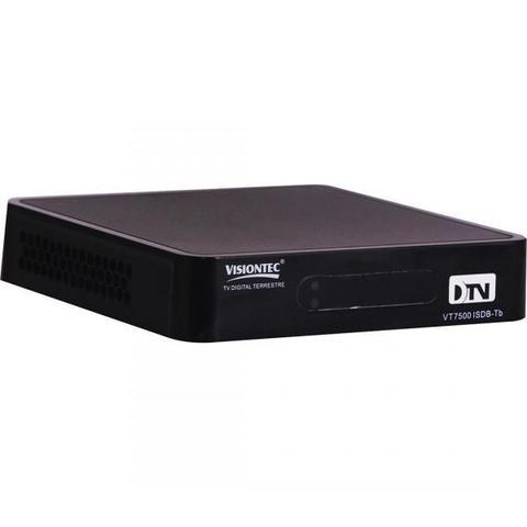 Imagem de Conversor Digital VT7500 Full HD USB/HDMI Preto - VISIONTEC