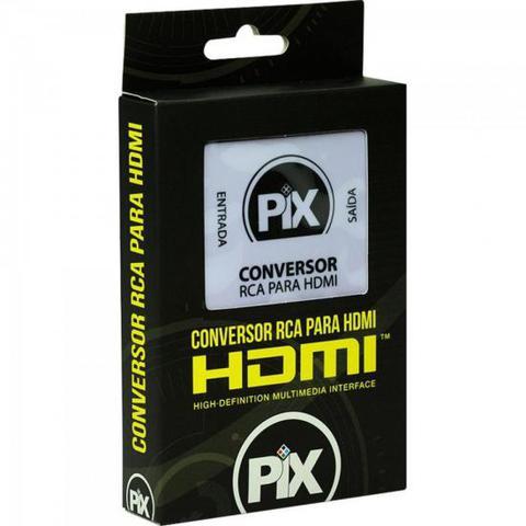Imagem de Conversor RCA para HDMI Branco PIX
