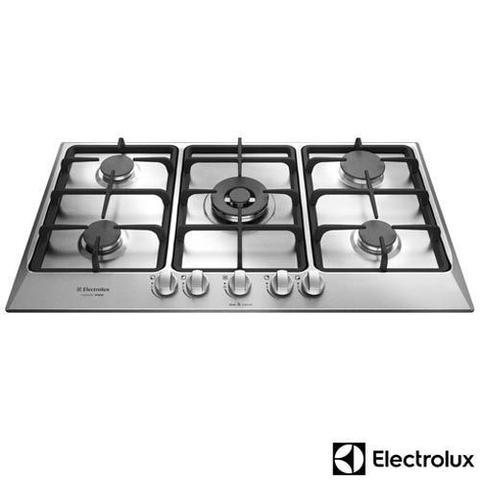 Imagem de Cooktop à Gás Electrolux Home Pro com 05 Bocas, Acendimento superautomático e Master Chama - GF90X