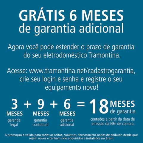 Imagem de Cooktop à Gás Tramontina Brasil 5GG 70  em Vidro Preto Acendimento Automático 5 Q 94708501