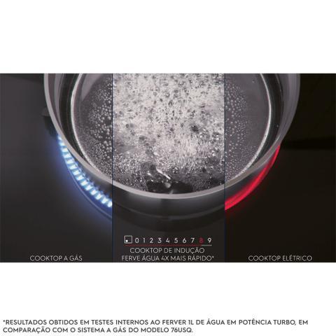 Imagem de Cooktop de Indução 4 Zonas Unicook Preto Electrolux (IE80P)