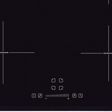 Imagem de Cooktop por Indução Tramontina New Square Slider B 4EI 60 Vitrocerâmico 94751221