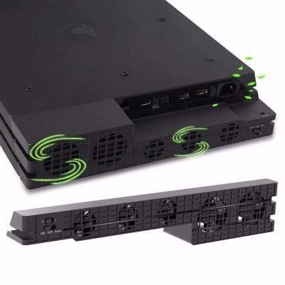 Imagem de Cooler Exaustor 5 Ventoinhas Para Playstation 4 Ps4 Pro video game