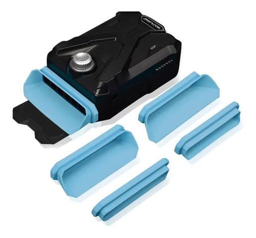 Imagem de Cooler Para Notebook + 4 Acessorios de Encaixe + Cabo USB