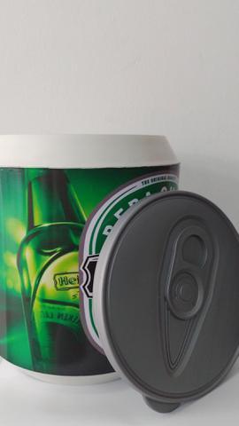 Imagem de cooler térmico 10 latas cerveja ou refrigerantes  parede térmica em pp leve com alça