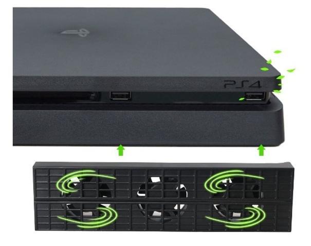 Imagem de Cooler Ventilador Para Ps4 Slim PlayStation 4 Slim USB