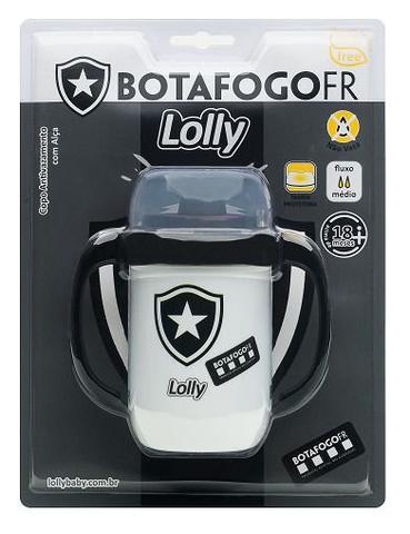 Imagem de Copo Botafogo Antivazamento com Alça Lolly 250ml