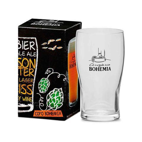 Imagem de Copo Cervejaria Bohemia 340ml