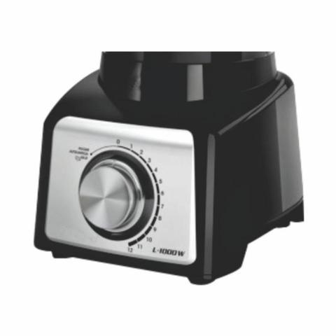 Imagem de Copo de Liquidificador Mondial L1000 / Mondial Turbo Inox L1200w Preto