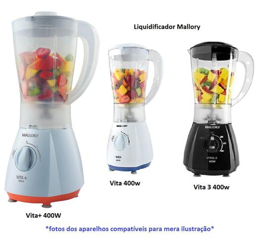 Imagem de Copo Para Liquidificador Mallory Vita Mais 400w, Vita 3, Vita5