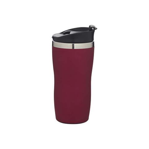 Imagem de Copo Tipo Térmico Inox Rosa 450ml para Café Chá Chocolate Quente Mor