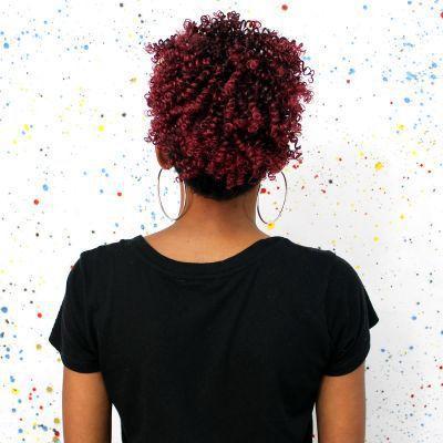 Imagem de COQUE Afro Puff cor T1B/BUG - Cabelo Orgânico Cherey