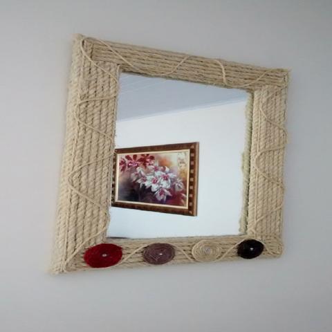 Imagem de Corda de Sisal 5mm com 100 Metros Cor Natural para Artesanato e Decorações