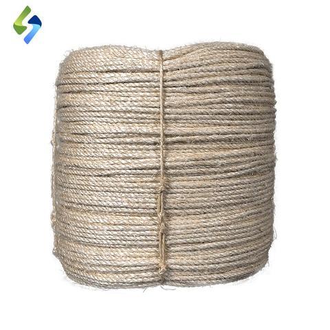 Imagem de Corda de Sisal 6mm x 100 metros - SISALSUL - Barbante fibra natural Artesanato Macramê Arranhadores