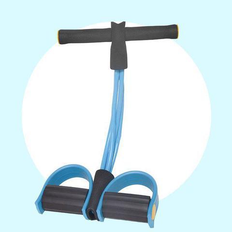 Imagem de Corda Elastico extensor Academia Exercicio Abdominal Ginastica Alongamento Exercicios E Musculação