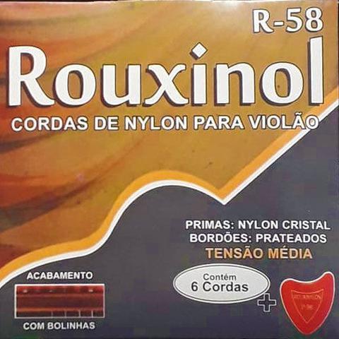 Imagem de Corda Para Violão Nylon R-58 Rouxinol