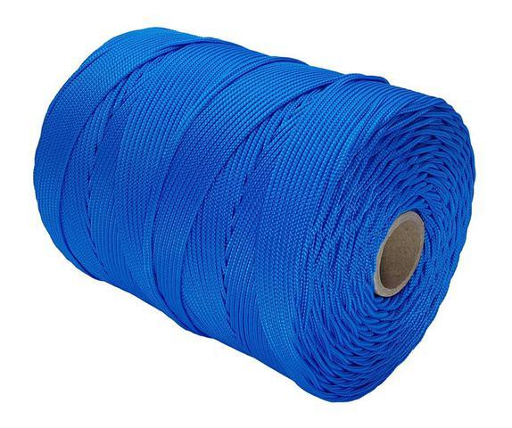 Imagem de Corda Trançada 2,0 mm Azul Royal com 448 Metros - Cordaville