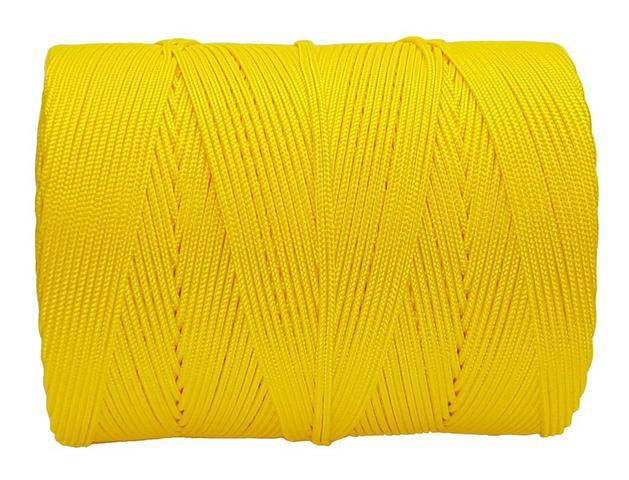 Imagem de Corda Trançada 3,0 mm Amarela rolo com 207 metros-Cordaville