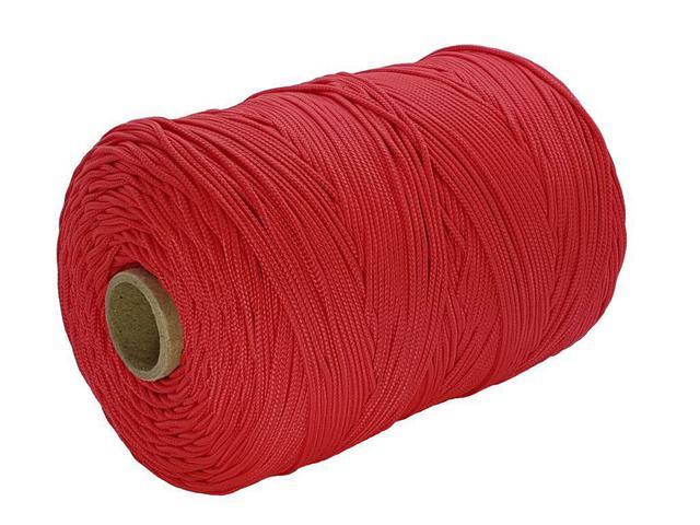 Imagem de Corda Trançada 3,0 mm Vermelha com 207 metros - Cordaville