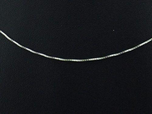 Imagem de Cordão Corrente Veneziana Fina 70cm Prata 925