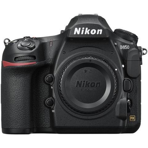 Câmera Digital Nikon Corpo Preto 45.7mp - D850