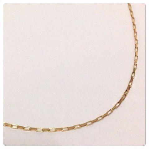Imagem de Corrente Cordão Masculino Ouro 1.55g 70cm Ouro 18k 750
