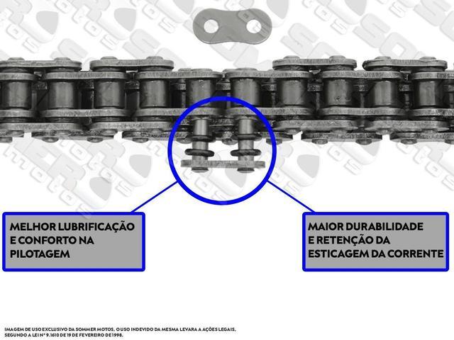 Imagem de Corrente de transmissão suzuki tl 1000s 1997 a 2000 530x104 com retentor(alta performance) brandy