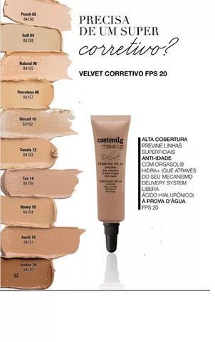 Imagem de Corretivo velvet  fps20 contém 1g porcelana 08
