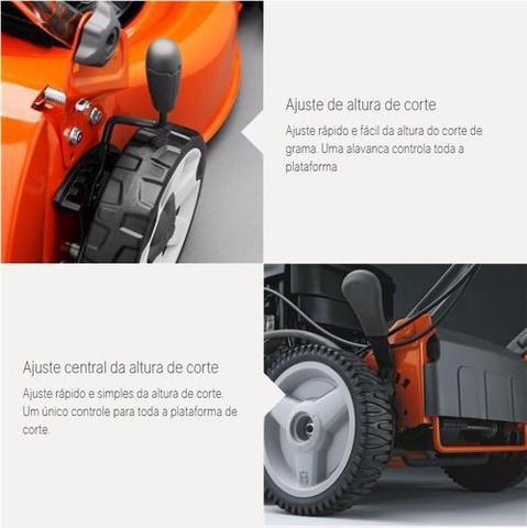 Imagem de Cortador De Grama A Gasolina Husqvarna Lc140 4,5hp 4 Tempos Recolhedor E Reciclador