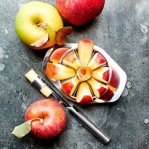 Imagem de Cortador e Fatiador De Maça, Pera, Frutas e Legumes em Inox