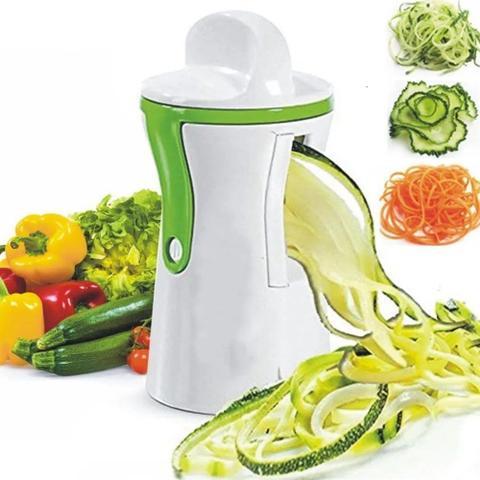 Imagem de Cortador Fatiador De Legumes Espiral Prático Macarrao