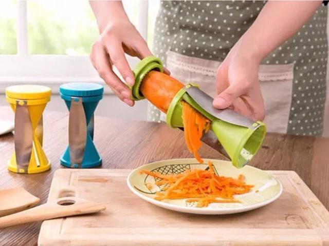 Imagem de Cortador fatiador de vegetais em espiral 12.8cm  catuaí