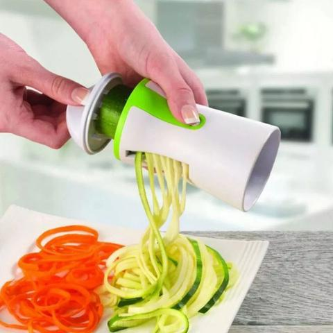 Imagem de Cortador Fatiador Espiral Legumes Vegetal Salada Verduras