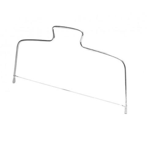 Imagem de Cortador fatiador manual de bolo 31cm em inox zenker