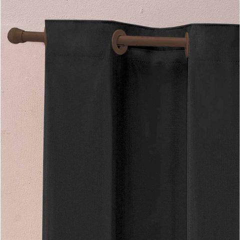 Imagem de Cortina Blackout Corta Luz PVC 220cm x 130cm - Preto